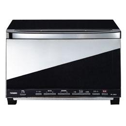 ツインバード ミラーガラスオーブントースター ブラック TS-D057B【取り寄せ品キャンセル返品不可、割引不可】