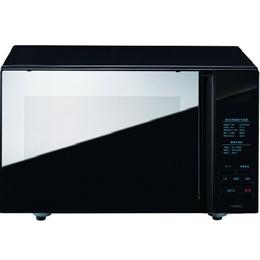 ツインバード ミラーガラスフラット電子レンジ ブラック DR-4259B【取り寄せ品キャンセル返品不可、割引不可】