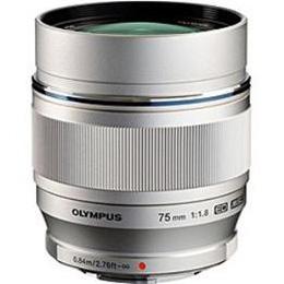 OLYMPUS 交換レンズ ETM75F1.8 ETM75F1.8【取り寄せ品キャンセル返品不可、割引不可】