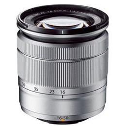 富士フイルム 交換用レンズ XC16-50mmF3.5-5.6 OIS II シルバーXマウント【取り寄せ品キャンセル返品不可、割引不可】