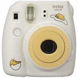 富士フイルム INSMINI8-GUDETAMA インスタントカメラ チェキ 「instax mini 8」 ぐでたま【取り寄せ品キャンセル返品不可、割引不可】