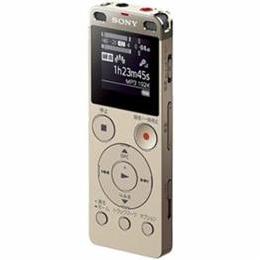 ソニー リニアPCM対応ICレコーダー 4GB(ゴールド) ICD-UX560FNC【取り寄せ品キャンセル返品不可、割引不可】