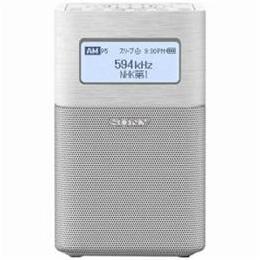 ソニー SRF-V1BT-W FM/AMホームラジオ ホワイト【取り寄せ品キャンセル返品不可、割引不可】
