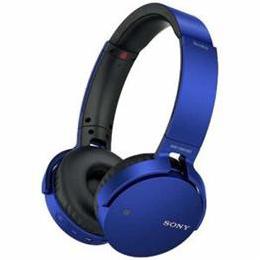 ソニー MDRXB650BTLZ Bluetooth対応ワイヤレスステレオヘッドセット(ブルー)【取り寄せ品キャンセル返品不可、割引不可】