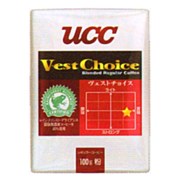 UCC上島珈琲 UCCヴェストチョイスSAS(粉)VP100g 50袋入り UCC302419000【取り寄せ品キャンセル返品不可、割引不可】