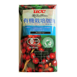 UCC上島珈琲 UCC CN有機+RA認証アイスコーヒーSAS(粉)GF125g 40袋入り UCC302818000【取り寄せ品キャンセル返品不可、割引不可】