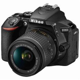 Nikon デジタル一カメラ「D5600」18-55 VR レンズキット D5600-L18-55KIT【割引サービス不可、寄せ品キャンセル返品不可、突然終了欠品あり】