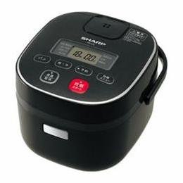 SHARP KS-C5L-B ジャー炊飯器 (3合炊き) ブラック系【割引サービス不可、寄せ品キャンセル返品不可、突然終了欠品あり】