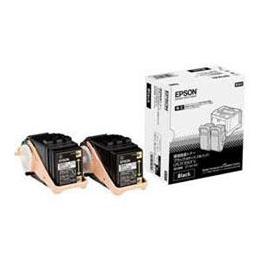 EPSON 純正環境推進トナー 2本パック Mサイズ(ブラック) LPC3T35KPV【割引サービス不可、寄せ品キャンセル返品不可、突然終了欠品あり】