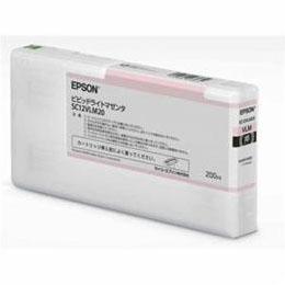 EPSON インクカートリッジ ビビッドライトマゼンタ 200ml SC12VLM20【割引サービス不可、寄せ品キャンセル返品不可、突然終了欠品あり】