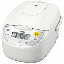 タイガー JBH-G181-W マイコン炊飯ジャー (1升) ホワイト【割引サービス不可、取り寄せ品キャンセル返品不可、突然終了欠品あり】