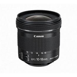 Canon 交換用レンズ EF-S10-18mm F4.5-5.6 IS STM EFS10-18ISSTM【割引サービス不可、取り寄せ品キャンセル返品不可、突然終了欠品あり】