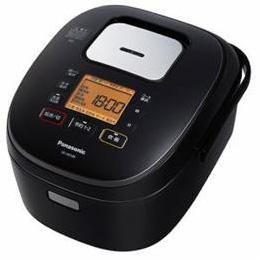 Panasonic IH炊飯器 5.5合炊き ブラック SR-HB108-K【割引サービス不可、取り寄せ品キャンセル返品不可、突然終了欠品あり】