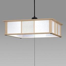 日立 LED和風木枠ペンダントライト~8畳 LEP-CA802EJ【割引サービス不可、取り寄せ品キャンセル返品不可、突然終了欠品あり】