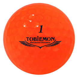 6個セット TOBIEMON 超高性能3ピース PREMIUM-3 スパークルオレンジ ダース T-B3DOX6【割引サービス不可、取り寄せ品キャンセル返品不可、突然終了欠品あり】
