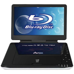 AVOX 10インチポータブルBDプレーヤー APBD-1030HW【割引サービス不可、取り寄せ品キャンセル返品不可、突然終了欠品あり】