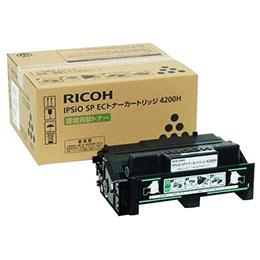 RICOH IPSiO SP ECトナーカートリッジ4200H 308637【割引サービス不可、取り寄せ品キャンセル返品不可、突然終了欠品あり】