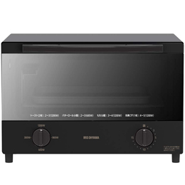 アイリスオーヤマ スチームオーブントースター 4枚焼き ブラック KSOT-012B【割引サービス不可、取り寄せ品キャンセル返品不可、突然終了欠品あり】