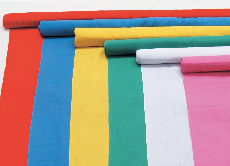 カラー布 10m巻 110cm幅 白 【割引不可・寄せ品キャンセル返品不可】