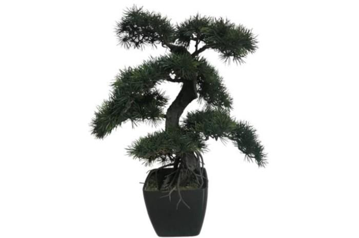 【メーカー直送・大感謝価格 】植物インテリア 黒松70 AT-55-017 H660 artificial bonsai