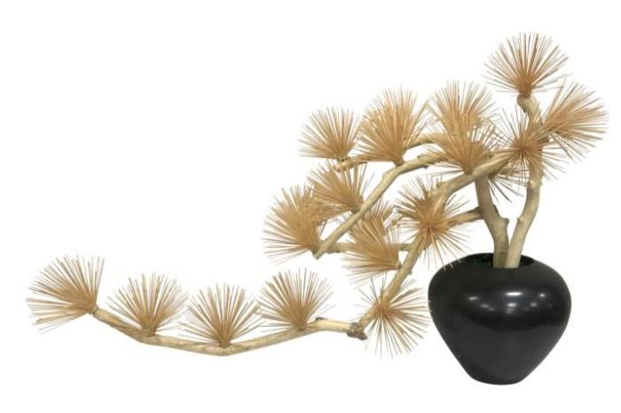 【メーカー直送・大感謝価格 】植物インテリア AT-55-025 W950×D350×H600 artificial bonsai