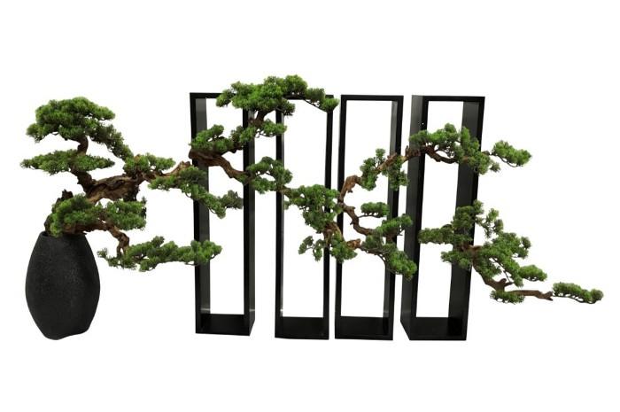 【メーカー直送・大感謝価格 】植物インテリア AT-55-029 W1600×D400×H800 artificial bonsai