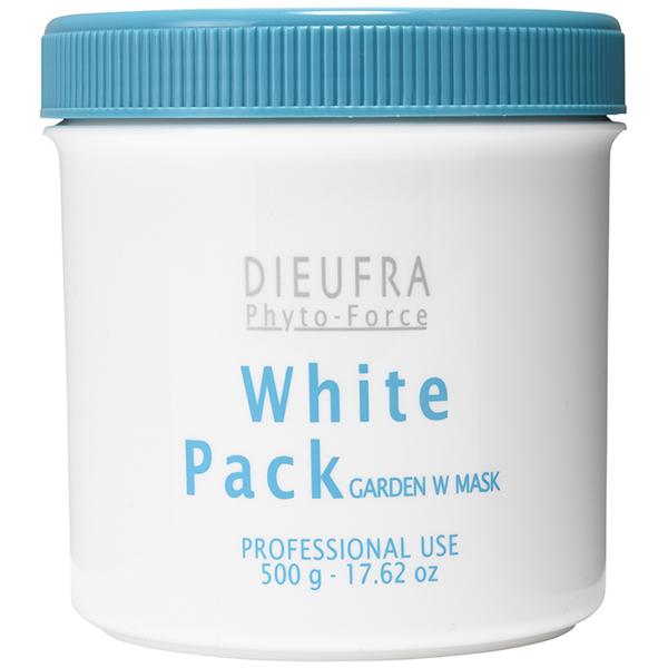 【大感謝価格 】デュフラ フィトフォース ホワイトニングパック 500g ミロタムヌスフラベリフォリア追加配合 DIEUFRA phyto-Force
