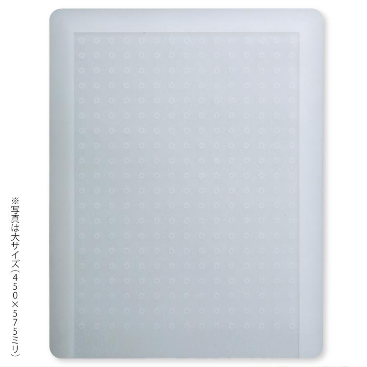 【メーカー直送・大感謝価格 】Achilles キッチン用半透明保護マット 溝なしタイプ 特大 60×65cm
