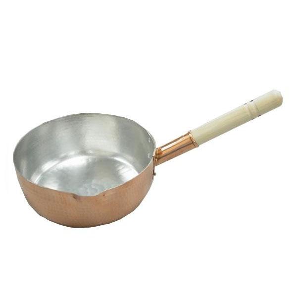 【大感謝価格】 中村銅器製作所 銅製 行平鍋 24cm 【返品キャンセル不可】