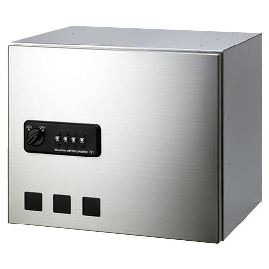 【大感謝価格】 タジマメタルワーク 宅配ボックス 前入前出タイプ ダイヤル錠式 小型荷物用 GX36-30 【返品キャンセル不可】