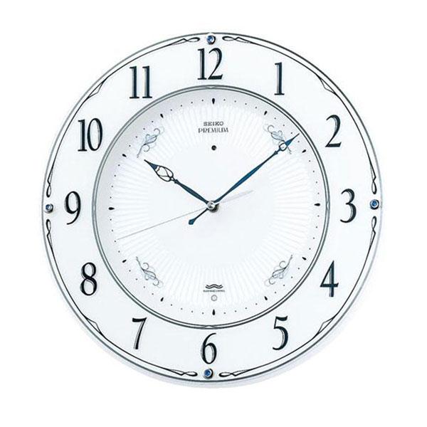 【大感謝価格】SEIKO セイコークロック 電波クロック 掛時計 スタンダード LS230W【お寄せ品、返品キャンセル不可】