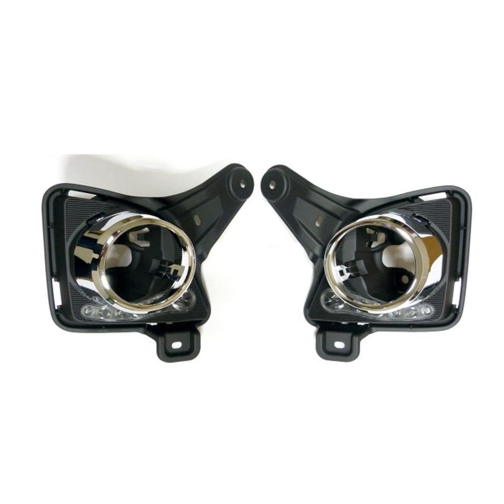 【大感謝価格】SoulMates 200系ハイエース 3型用フォグブラケット LEDデイランプ機能付 WHITE LED SIフォグカバー BKステー GT-T05【寄せ品、返品キャンセル不可】