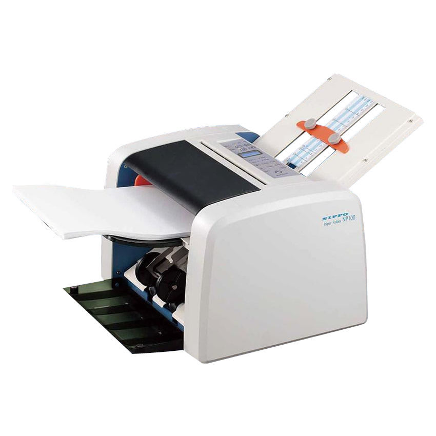 【大感謝価格】NIPPO ニッポー オフィス機器 自動紙折り機 NP100【お寄せ品、返品キャンセル不可】