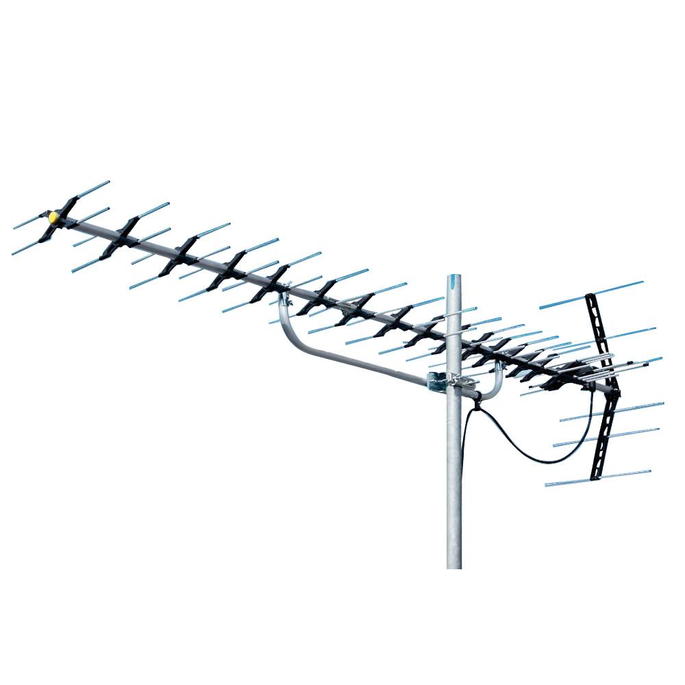 【大感謝価格】マスプロ電工 地上デジタル放送受信用 家庭用 高性能UHFアンテナ 20素子 LS206【お寄せ品、返品キャンセル不可】