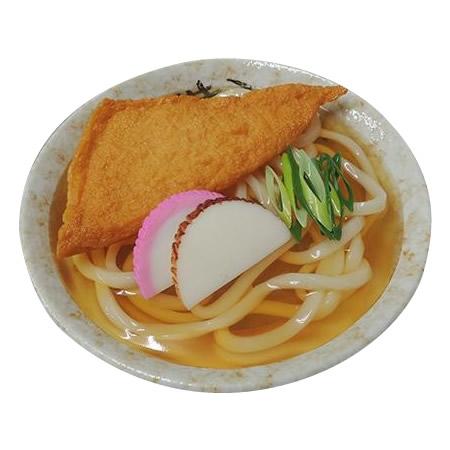 【大感謝価格】 日本職人が作る 食品サンプル きつねうどん IP-428 【返品キャンセル不可】
