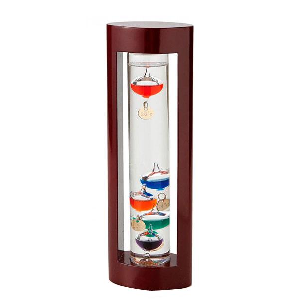 【2個セット】【大感謝価格】茶谷産業 Fun Science ファンサイエンス ガラスフロート温度計L 333-202【お寄せ品、返品キャンセル不可】
