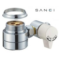 【大感謝価格】 三栄水栓 SANEI シングル混合栓用分岐アダプター B98-AU2 【返品キャンセル不可】