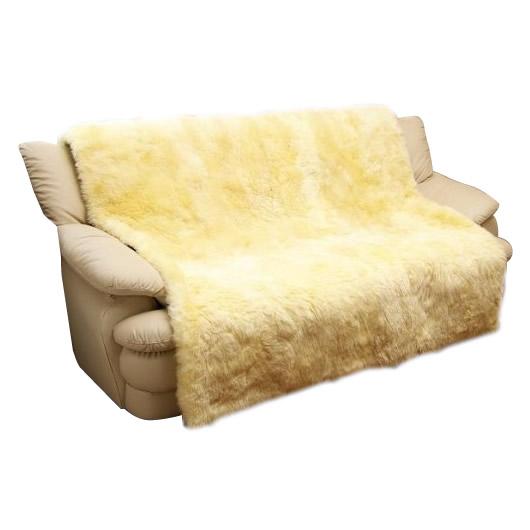 【メーカー直送・大感謝価格】 ムートン椅子カバー 160×160cm MG7160 【返品キャンセル不可】