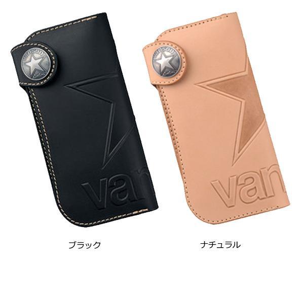 【大感謝価格】VANSON バンソン ロングウォレット VP-115-01 ブラック【お寄せ品、返品キャンセル不可】