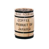 【大感謝価格】 コーヒー樽傘立 白 【お取り寄せ品、返品キャンセル不可】