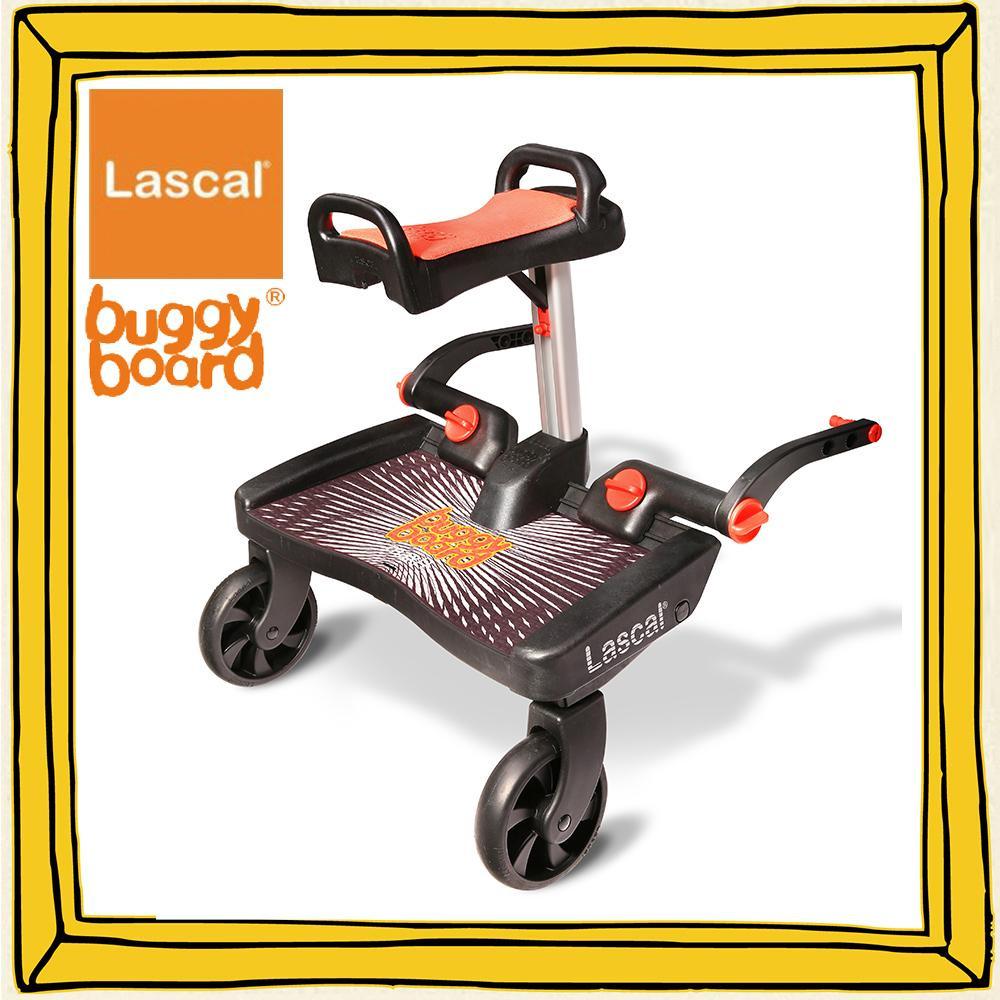 【大感謝価格】Lascal(ラスカル) バギーボードマキシ+サドルセット 19454160【お寄せ品、返品キャンセル不可】