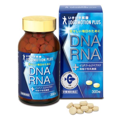 『いきいき核酸 ロコモーションプラス 300粒』健康食品 サプリメント いきいき核酸 ロコモーションプラス 300粒(5-7営業日前後で出荷、返品キャンセル不可品)送料無料