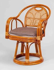 大感謝価格『ラタン 回転椅子 ハイタイプ GNM816HKD』『メーカー直送品。代引不可・同梱不可・返品キャンセル・割引不可』座椅子 インテリア 雑貨 グッズ ラタン 回転椅子 ハイタイプ GNM816HKD送料無料