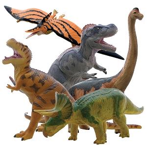 【メーカー直送】ビニールモデル人気恐竜5体セット 70639-70640-70670-70671-70688【割引不可】