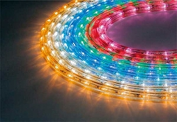 大感謝価格『LEDミニデュラライト レッドorアンバー』『メーカー直送品。代引不可・同梱不可・返品キャンセル・割引不可』インテリア 照明 飾り イルミネーション クリスマス LEDミニデュラライト 1ロール30m送料無料