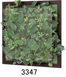 大感謝価格『木目フレームウォールグリーン 3347or3348or3349or3350』『メーカー直送品。代引不可・同梱不可・返品キャンセル・割引不可』観葉植物 壁掛け ディスプレイ インテリア 雑貨 グッズ送料無料