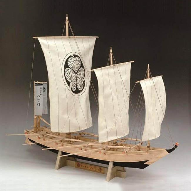 大感謝価格『木製帆船模型 1/24 八丁櫓』『メーカー直送品。代引不可・同梱不可・返品キャンセル・割引不可』組み立てる インテリア ホビー ツール アイテム グッズ 木製帆船模型 1/24 八丁櫓送料無料