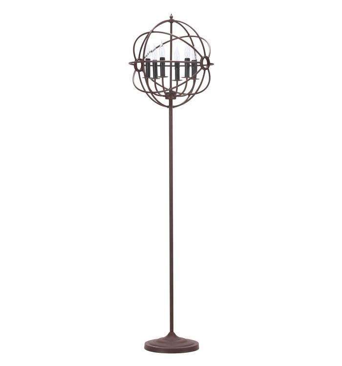 大感謝価格『GYRO FLOOR LAMP(ジャイロ フロアランプ) 538563』(納期注意)(絶対返品キャンセル不可品)『直送品。代引不可・同梱不可・返品キャンセル・割引不可』アンティーク モダン 照明 ライト送料無料