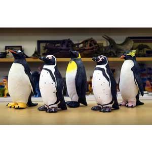 【メーカー直送・大感謝価格 】ペンギン ビニールモデル 5体セット 70679-72308-72309-72311-72312