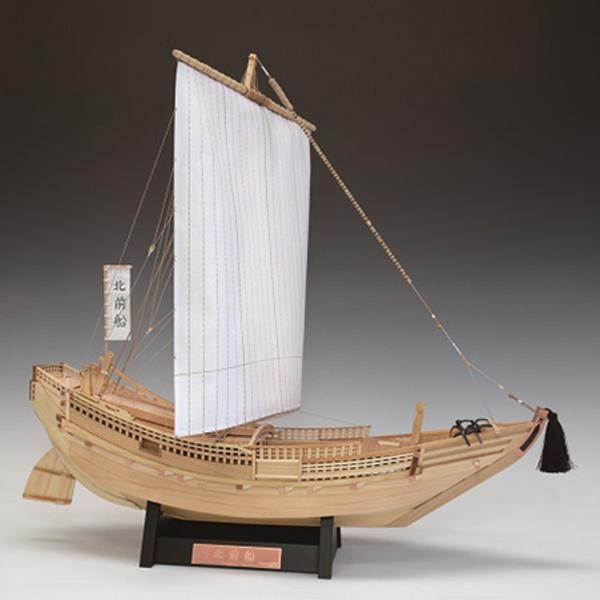 大感謝価格『木製帆船模型 1/72 北前船』(メーカー直送品。代引不可・同梱不可・返品キャンセル・割引不可)組み立てる インテリア ホビー ツール アイテム グッズ 木製帆船模型 1/72 北前船送料無料